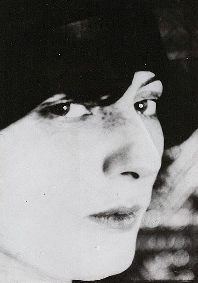 Lot 721Umbo (Otto Umbehr)Madame D. en profil. 1926/1927Gelatin silver print, 1975, 23,9 x 16,9 cm