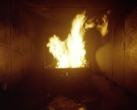fire #2, 2009C-Print, 80 x 100 cm, Edition of 5© Marina Gadonneix
