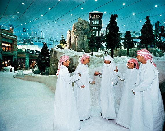 Indoor-Skihalle Dubai, 2006