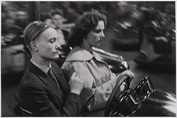 Arno FischerOst-Berlin, Lustgarten 1953Aus der Serie: Situation Berlin, 1953 - 1960© Arno FischerFoto: Kai-Annett Becker