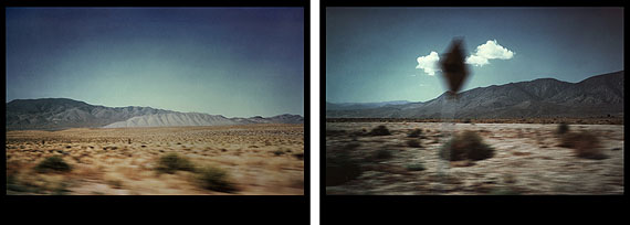 EVE SONNEMANLANDSCAPE/CLOUD, NEW MEXICO, 1978diptych photographs on Cibachrome paper20 x 30 in. 50.8 x 76.2 cm