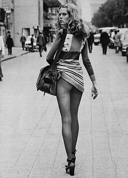 'Fashion', Dépêche Mode, Paris 1971© Alice Springs