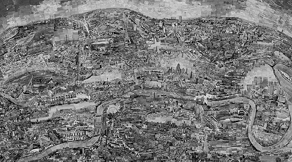 Diorama Map London 2010© Sohei Nishino courtesy Michael Hoppen Contemporary/EMON PHOTO GALLERY