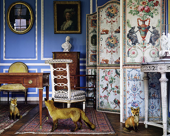 Karen Knorr, The Blue Salon Louis XVI (3), Carnivalet, 2005 © Karen Knorr/ Courtesy of James Hyman Gallery
