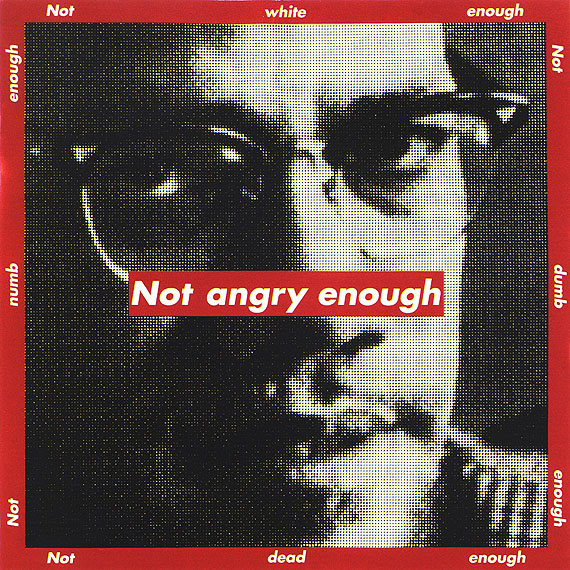 Barbara Krugernot angry enough, 1997