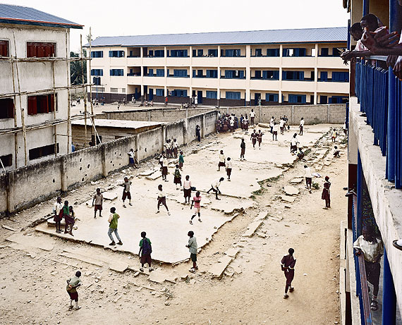 Julian Röder, Demolished school sched, Lagos, Nigeria, 2009, 110x130 cm