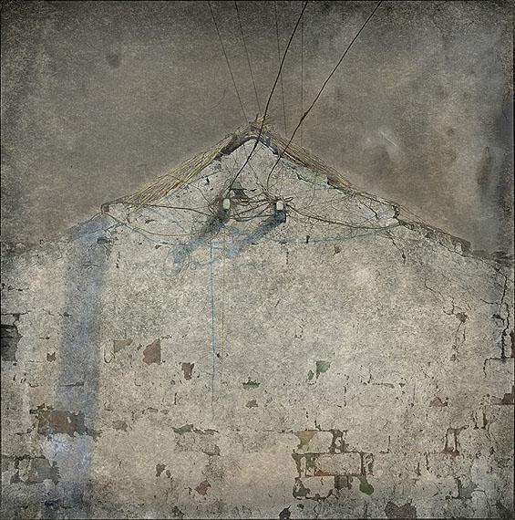 "LIANG WEIZHOU: ""Old Wall, Shanghai"" (2009) Archival pigment print on fine art paper40cm x 40cm – Edition of 5; 60cm x 60cm - Edition of 5; 100cm x 100cm - Edition of 3"