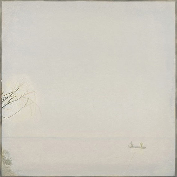 "LIANG WEIZHOU: ""Fishing Boat on Dianshan Lake"" (2004 – 2010) Archival pigment print on fine art paper40cm x 40cm – Edition of 8; 60cm x 60cm - Edition of 10; 100cm x 100cm - Edition of 6"