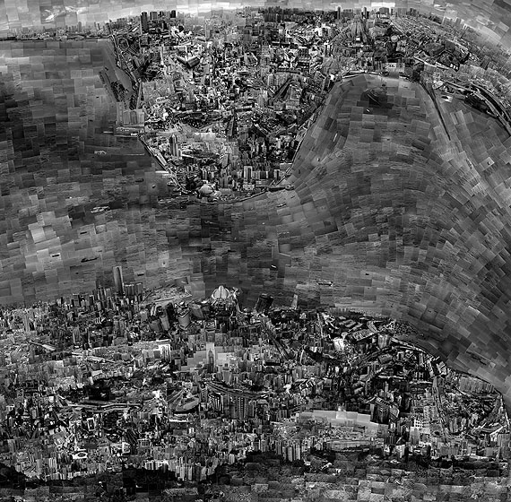 Diorama Map Hong Kong 2010© Sohei Nishino courtesy Michael Hoppen Contemporary/EMON PHOTO GALLERY