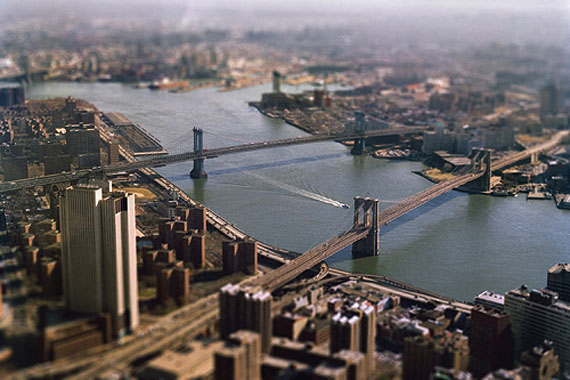 Esteban Pastorino Díaz, East River from WTC, 1999PDNB Gallery, Dallas