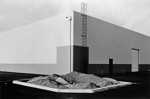 Lewis Baltz (American, b. 1945): SOUTH CORNER, RICCAR AMERICA COMPANY, 3184 PULLMAN, COSTA MESA, 1974George Eastman House collections© Lewis Baltz