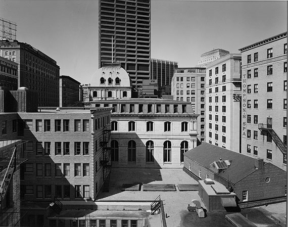 Nicholas Nixon (American, b. 1947): BUILDINGS ON TREMONT STREET, BOSTON, 1975George Eastman House collections© Nicholas Nixon
