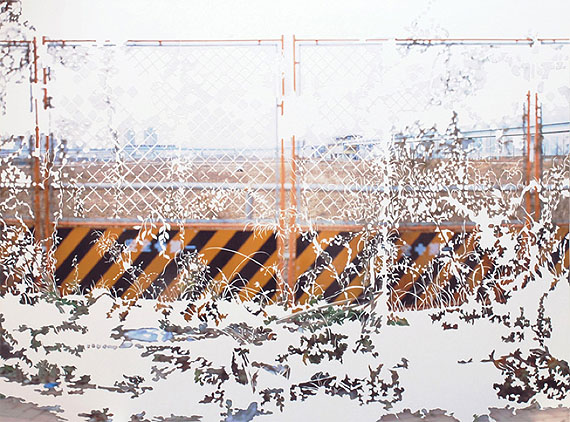 One Day, 2008, Photographic collage, mounted on paper, 89 x 119 cm