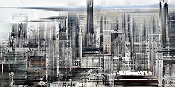 """Sabine Wild, """"Chicago_0240"""", 2011, Lambdaprint/Acrylglas in Aluminium-Artbox, 91,2 x 181,2 cm, Ed. 5 (+ 1 Artist Print)"""