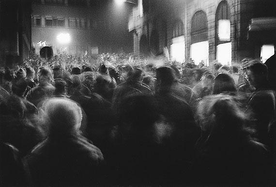 Thomas Lüttge, Montagsdemonstration, Leipzig 1989