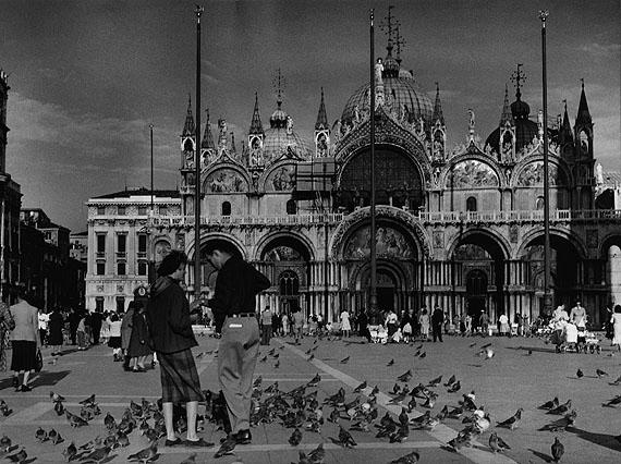 Venedig, Markusplatz mit San Marco© Fotoarchiv Ruhr Museum, EssenRuth Hallensleben. Italien 1952