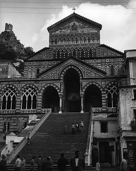 Amalfi, Cattedrale di Sant'Andrea© Fotoarchiv Ruhr Museum, EssenRuth Hallensleben. Italien 1952