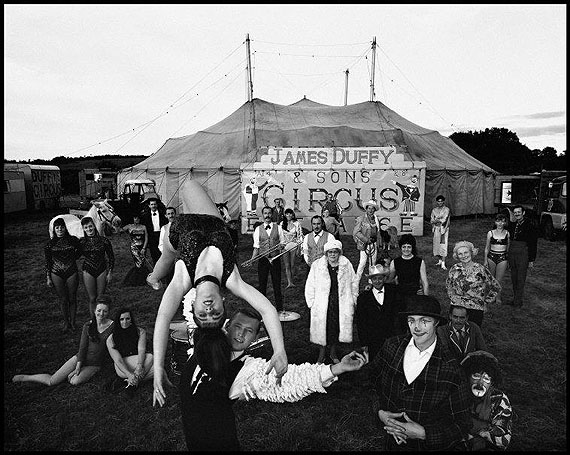 Duffy Circus. Ireland 1967© Bruce Davidson courtesy Magnum Gallery