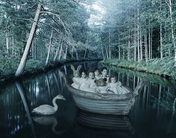 The silent stream201187 x 110 cmFine Art Digital Print