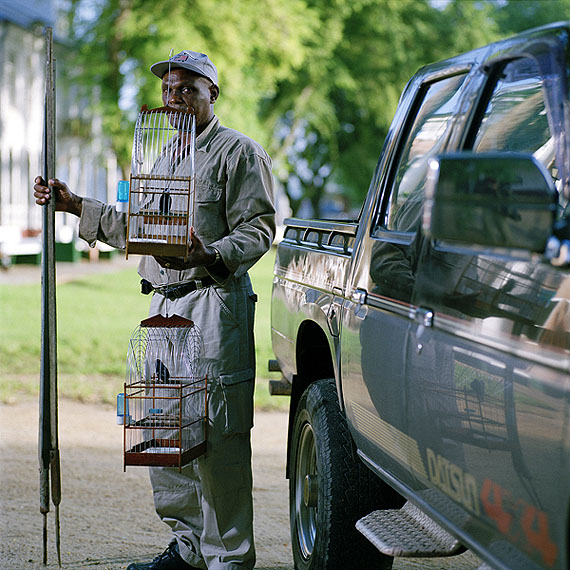 Photographer : Jacquie Maria WesselsTitel Birdman #6 Paramaribo SurinameYear: 2006