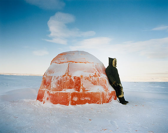 Scarlett Hooft Graafland, Lemonade Igloo, 2007. Courtesy of Michael Hoppen Gallery, London