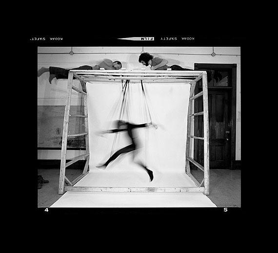 Suzy Lake, Choreographed Puppet #4-5, Performance/ photography, 1976. Courtesy of Paul Petro Contemporary Art, Toronto