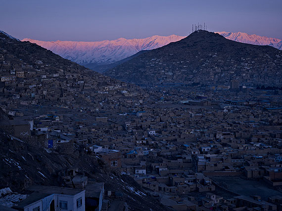 A view of Kabul City from Bala Burj, 201140x53