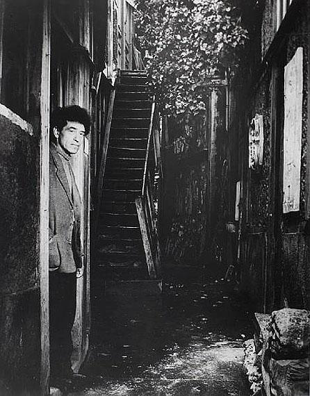 Lot 42Brassaï (Gyula Halász) (Hungarian/French, 1899-1984)Giacometti à la porte de son atelier, rue H. Maindrou, 14e, January 1948£4,000-6,000
