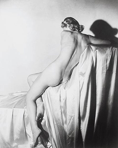 Lot 61Horst P. Horst (German/American, 1906-1999)Lisa on Silk I, New York, 1940£6,000-8,000