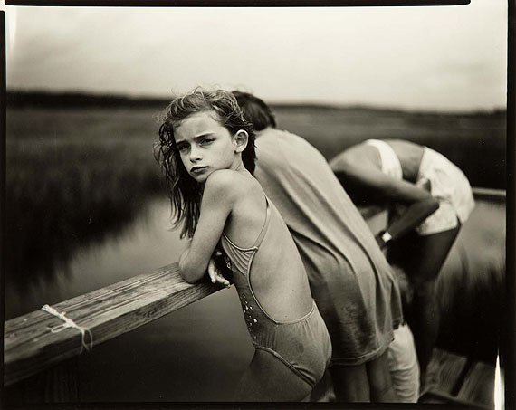 Sally Mann Jessie in the Wind, 1989Vintage gelatin silver printEstimate: £8,000 - 12,000