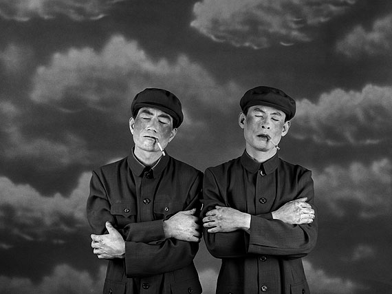 "WANG NINGDE: ""Some Days No. 7"" (2001) Silver Gelatin. 50x40cm x 2 - Ed. of 10; 60x50cm x 2 - Ed. of 10; 160x123cm x 2 - Ed. of 10.  © Wang Ningde. Courtesy of m97 Gallery"