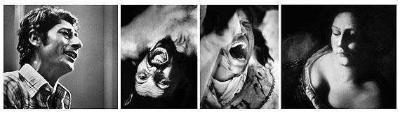 TRANSITI OPERA 14, 2008, Kohleabzug auf Baumwollpapier, Ed. 2/5, 70,3 x 207,5 x 2,6 cm (Polyptychon) © Courtesy Galerie Karsten Greve