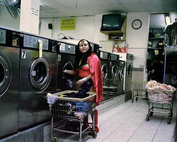 Dulce Pinzon- From the series « The true story of super-heroes » Maria Luisa Romero