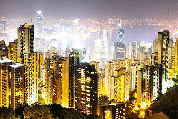 Hongkong Lights, 2010© David Drebin