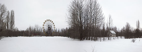 Merilyn Fairskye, Playground, 40 x 109cm, series: Plant Life (Chernobyl), 2011pigment prints, editions of 5© Merilyn Fairskye