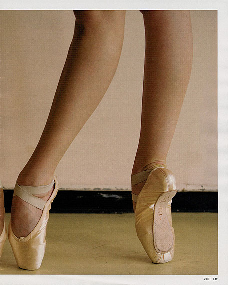 Roe Ethridge, Ballet Studio (Casia), 2010© Roe Ethridge/ Courtesy of Greengrassi London/ Andrew Kreps Gallery, New York/ Mai 36 Gallerie, Zurich