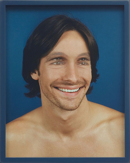 Elad Lassry, Man 071, 2007© Elad Lassry/ Courtesy of David Kordansky Gallery, Los Angeles, CA