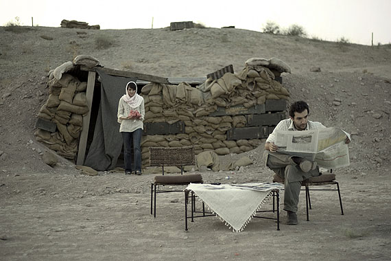 Gohar Dashti, Today's life and war series, 2008C-Print120x90 cm©  the artist