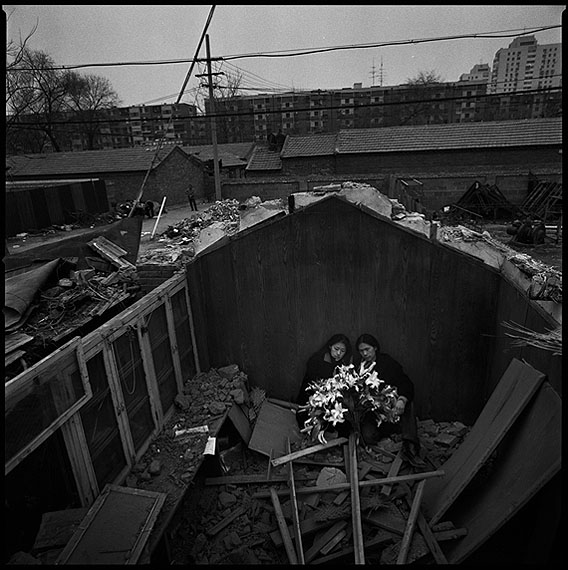 RongRong & inri, Liulitun, Beijing 2003 No. 8, 2003, Gelatin silver print, 100 x 100 cm (Edition of 8) / 50.8 x 61 cm (Edition of 12). (Image courtesy of the artists and Blindspot Gallery)