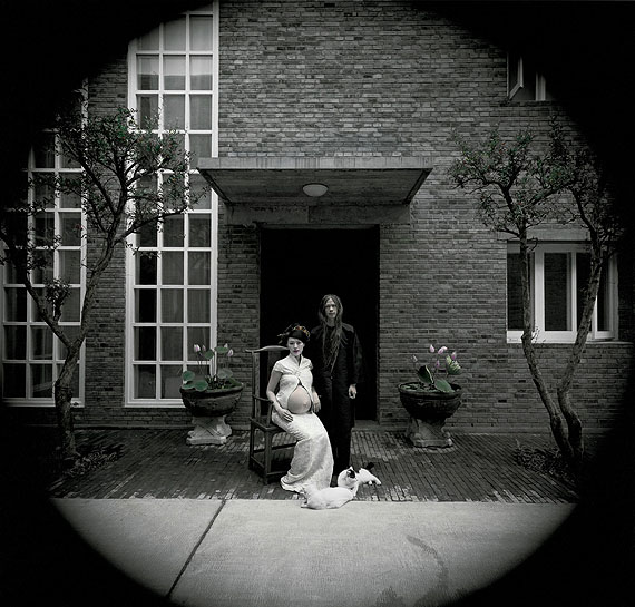 RongRong & inri, Caochangdai, Beijing 2004 No. 2, 2004, Hand-dyed gelatin silver print, 102 x 109 cm (Edition of 8) / 50.8 x 61 cm (Edition of 12). (Image courtesy of the artists and Blindspot Gallery)