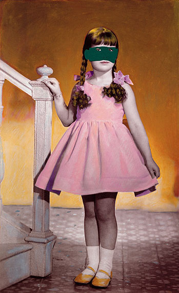 De las sucias moscas, 2006, mixed media, collage, photography, 100 x 61 cm © Carmen Calvo