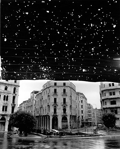 Beyrouth Centre Ville / Place de l'Etoile, 1991 © Fouad Elkoury, Courtesy Tanit Gallery, Munich