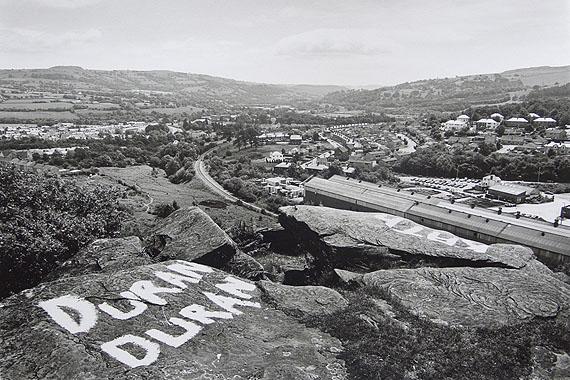 © John Davies - Penulta Rocks, Hengoed, Rhymney Valley, S. Wales, 1984.  Courtesy of Michael Hoppen Contemporary.