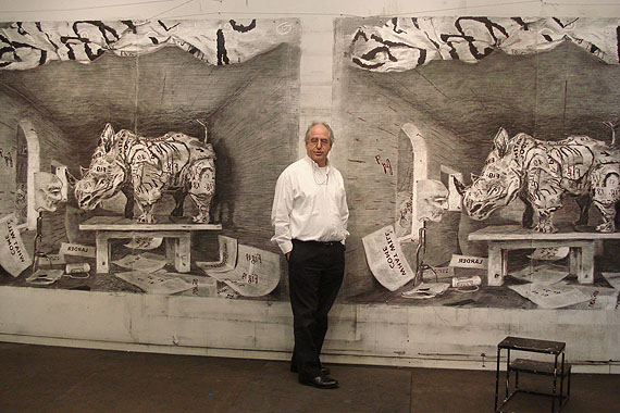 William Kentridge in seinem StudioFoto: Anne McIlleron