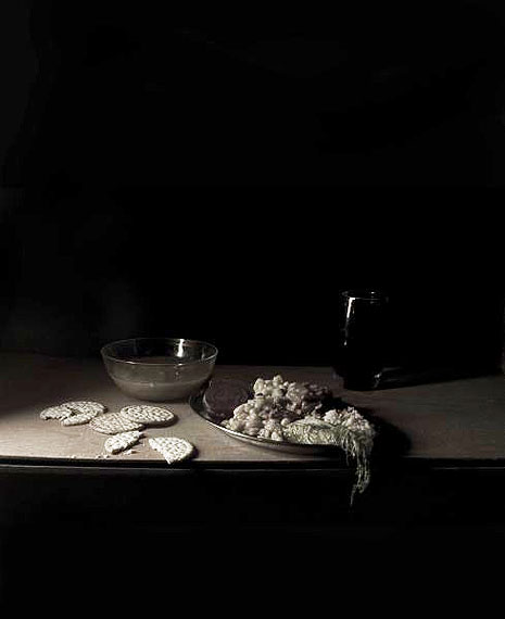 Mat CollishawLast meal on Death Row - Thomas Andy Barefoot, 2010Tirage lambda, cadre bois66 x 53 cm© Matt Collishaw, Analix Forever, Genève