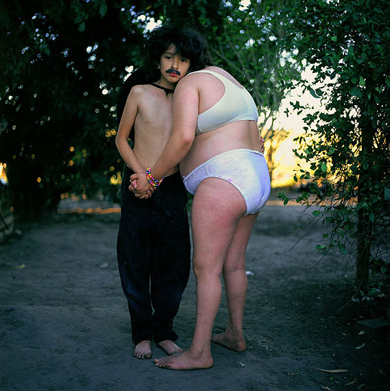 Alessandra Sanguinetti, The Couple, from the series The Adventures of Guille and Belinda and the Enigmatic Meaning of their Dreams, 1999 Courtesy Yossi Milo Gallery, New York; Ruth Benzacar Gallery, Buenos Aires, © Alessandra Sanguinetti/Magnum Photos