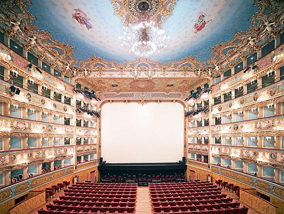 Candida HöferTeatro la Fenice di Venezia II 2011From the seriesVenice, 2011Inkjet46.8 x 58.5 in / 120 x 150.1 cmCourtesy of Ben Brown Fine Arts2/6 + 3AP30,000 + VAT & Transportation
