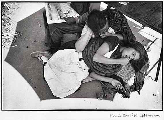 Henri Cartier-BressonCalle Cuauhtemotzin, Mexico City, 1934Gelatin silver printEstimate: $10,000-15,000