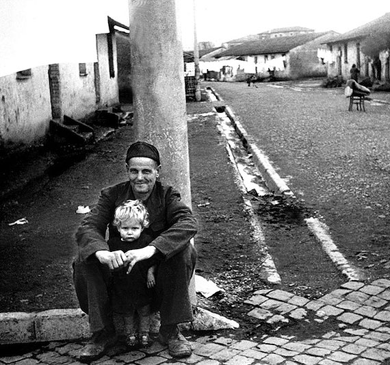 Luigi Crocenzi. The outskirts of Rome, 1947