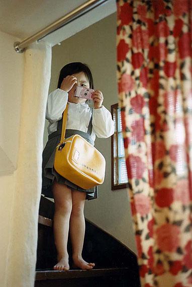 Takashi Homma, Tokyo and My Daughter 3, 2003, C-Print auf Dibond